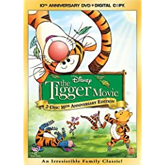 """ENTER TO WIN A DVD COPY OF """"THE TIGGER MOVIE: 10th ANNIVERSARY EDITION"""" 1"""