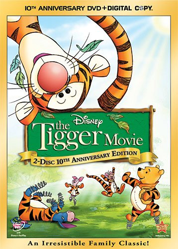 Cover art for  The Tigger Movie 10th Anniversary Edition (Two-Disc Edition + Digital Copy)
