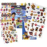 PAW Patrol Stickers & Tattoos Party Favor Pack (295 Stickers & 75 Temporary Tattoos)
