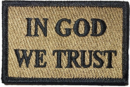 Tactical IN GOD WE TRUST Morale Patch 2