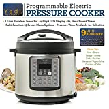 7-in-1 Multi-Functional Pressure Cooker, 6Qt/1000W by Yedi Houseware