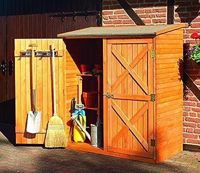 Holz-Geräteschrank Pforzheim groß Gerätehaus Schuppen Schrank von Promadino bei Gartenmöbel von Du und Dein Garten