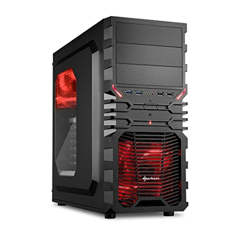 Ankermann-PC Gamer EXTREME 599D4, AMD FX-6350 6x 3.90GHz Turbo: 4.20GHz,, ASUS STRIX GAMING Radeon R7 370 4GB, 8 GB DDR3 RAM, 1000 GB Disque Dur, sans système d exploitation, Card Reader, EAN 4260219658812