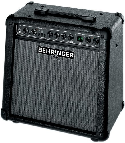 Behringer Gmx110 True Analog Modeling 30-Watt Guitar Amplifier