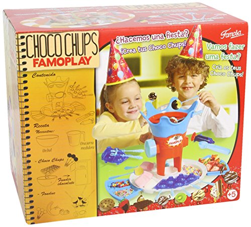 Famosa - Choco Chups Famoplay, juego creativo (7000011850)