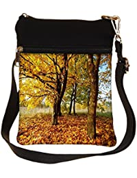 Snoogg Leavy Ground Cross Body Tote Bag / Shoulder Sling Carry Bag