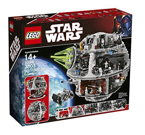 星战迷镇宅大Set,LEGO乐高 10188 星球大战系列之 Death Star 死星