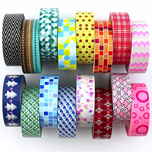 Washi Decorative Tape Set