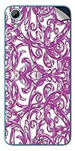 GsmKart HD626G+ Mobile Skin for HTC Desire 626 G+ (Purple, Desire 626 G+-362)