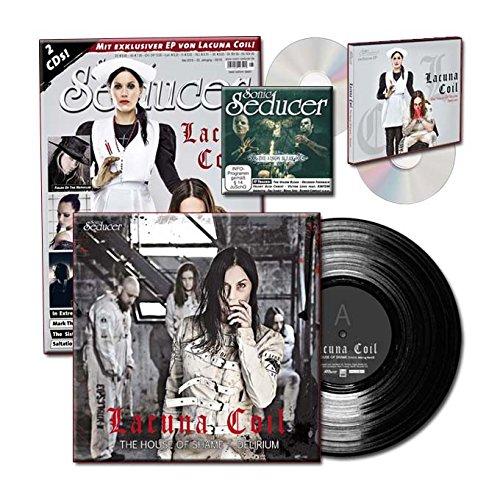 Sonic Seducer 05-2016 limited Edition + exkl. Vinyl von Lacuna Coil (499 Ex.) + 2 CDs, u.a. eine exkl. EP zum Album Delirium von Lacuna Coil, Bands: In Extremo, The 69 Eyes u.v.m.