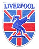 British Patches - Liverpool Patch - England & Union Jack - UK Shipping!