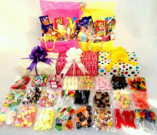 unique-retro-sweet-hamper-gift-wrapped-large-selection-incl-cola-bottles-flying-saucers-dolly-mixtur
