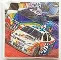 Vintage NASCAR 2-Ply Beverage Party Napkins Dated 2000 (Pack of 16)