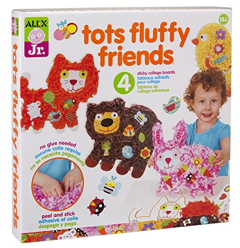 ALEX Toys ALEX Jr. Tots Fluffy Friends Paper Animal Activity