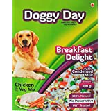 Doggy Day Breakfast Delight, 300g, Chicken & Veg(1 Pack)