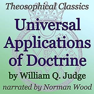 Universal Applications of Doctrine Audiobook