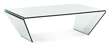 Zuo Migration Coffee Table with Clear Glass