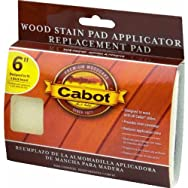 Cabot Wood Stain Applicator Replacement Pad-REPLACEMENT STAIN PAD