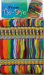Prism 36 x 8 m Floss Tiedye Divisible Stranded Cotton Skein Pack