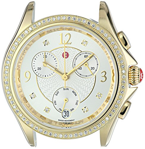 MICHELE-Womens-Belmore-Swiss-Quartz-Stainless-Steel-Casual-Watch-ColorGold-Toned-Model-MW29B01B0018