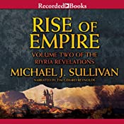 Rise of Empire: Riyria Revelations, Book 2 | Michael J. Sullivan