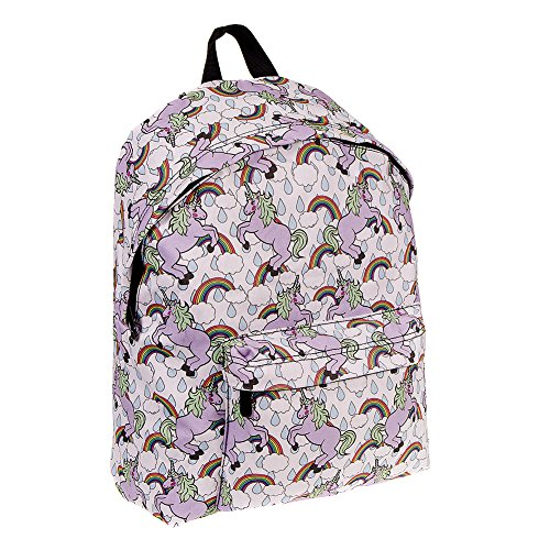 Bleeding-Heart-Sac-A-Dos-Licorne-Arc-En-Ciel-Multicolore