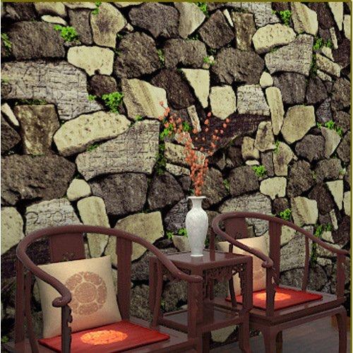 impermeabilisation-de-pvc-vintage-chinois-simule-modeles-pierre-papier-peint-theme-restaurants-resta