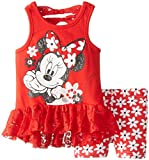 Disney Baby-Girls Infant 2 Piece Minnie Mouse Legging Set with Pullover