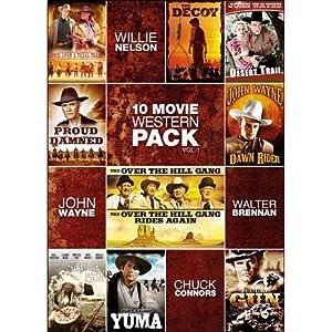 Amazon.com: 10-Movie Western Pack V.1: Clint Walker, Edgar Buchanan ...