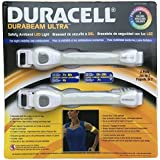 2 Pack - 7 Color Duracell Durabeam Ultra Safety Armband Led Light. Running Light. Cycling Light.