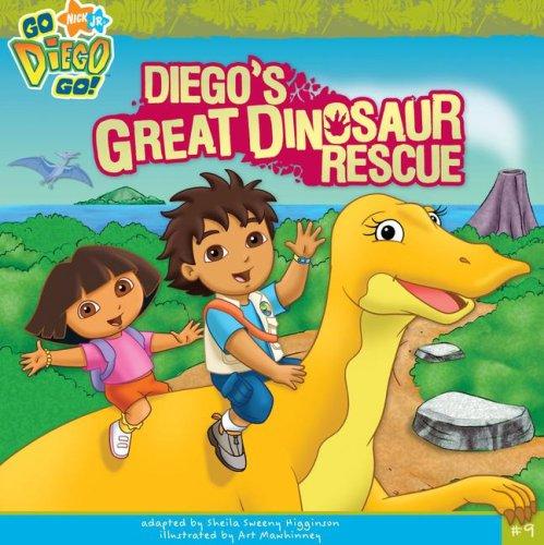Diego's Great Dinosaur Rescue (Go, Diego, Go!)
