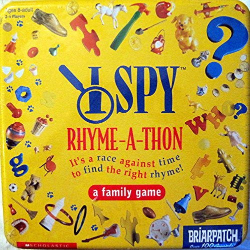 I Spy Rhyme-A-Thon, A Family Game - 1