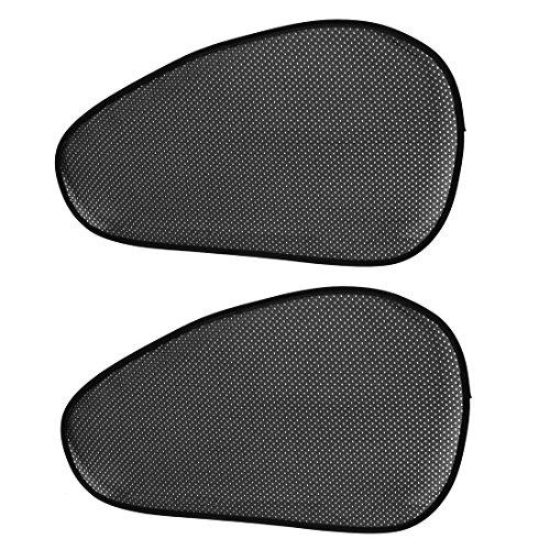voiture v hicule noir perfor vitre lat rale parasol boitier 69 x 39cm 2 pi ces. Black Bedroom Furniture Sets. Home Design Ideas