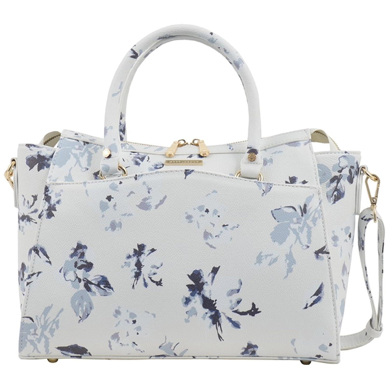 Amazon | マーキュリーデュオ バッグ MERCURYDUO 大人 かわいい おしゃれ 2WAYハンドバッグ ショルダーバッグ レディース MDB-0011 (Flower White) | ハンドバッグ