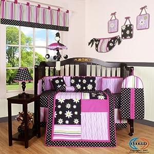 Amazon Com Geenny Boutique Crib Bedding Set Charming