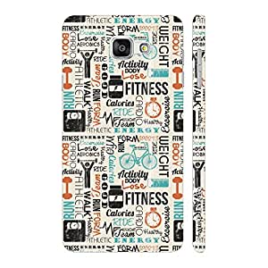Enthopia Designer Hardshell Case Fitness Freak Back Cover for Samsung Galaxy A7(2016)