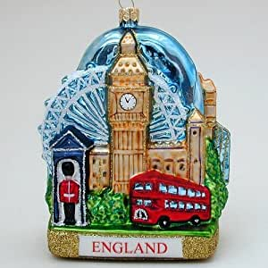 Amazon Com London England Landscape Polish Mouth Blown