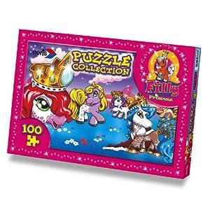 Schauen Sie sich Kundenbewertung für Noris 606033376 - Filly Princess Puzzle 4, 100-teilig