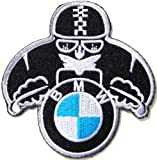 BMW Logo Motorcycles Motorrad Biker Jacket T-shirt Ecusson brode Patch Sew Iron on Em