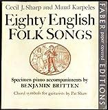 img - for Eighty Appalachian Folk Songs book / textbook / text book