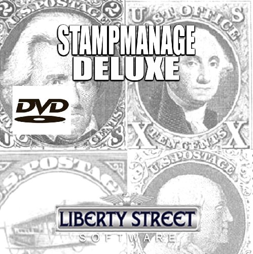 StampManage Deluxe 2011 Software - Stamp Collecting - Scott Catalog Philatelic DVD Plus Printed Manual For Collectors: Manage Your Stamp Collection