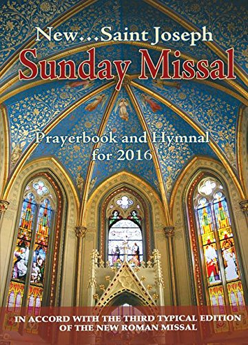 St. Joseph Sunday Missal and Hymnal: For 2016 PDF