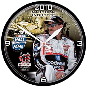 Wincraft Dale Earnhardt Nascar Hall Of Fame Round Clock by WinCraft