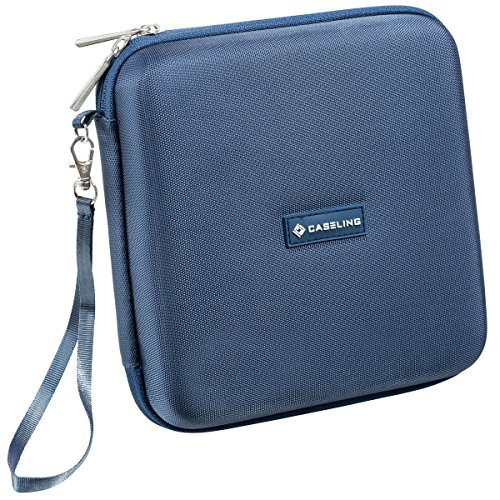 Caseling for Portable External USB DVD CD Blu-ray Rewriter / Writer and Optical Drives Hard Carrying Travel Storage Case Sleeve Bag. – Compatible With: Apple Superdrive, Lg, Samsung, Pioneer, Toshiba, Asus, Buffalo, Hp, Sony, Liteon, Pioneer, Pawtec, Panasonic, Esky, Lenovo, Sanoxy and Much More. – Black Caseling for Portable External DVD / Cd Writer, Optical Drives Hard Carrying Travel Storage Case Bag – Blue