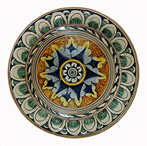 Hand Painted Platter Made In Italy