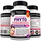 Phytoceramides 350 mg & Biotin 5000 - Gluten Free Powerful Anti-Aging Skin Care Vitamins « Buy 3 & 1 is FREE Use code PHYB3G1F » Plant Derived - Formulated by Doctors - Money Back Guarantee