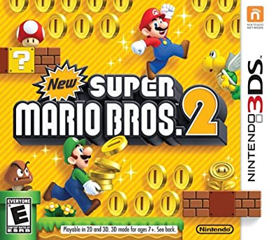 Cover of New Super Mario Bros. 2 for Nintendo 3DS