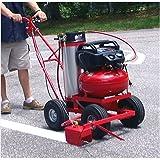 Parking Lot Striper Model 250EC Trueline Striper with 5 Gallon Paint Tank/with Electric Compressor Pack