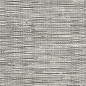 Norwall textures 4 faux grasscloth wallpaper gray for Vinyl grasscloth wallpaper bathroom