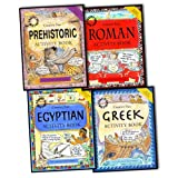 img - for Sue Weatherill Steve Weatherill Crafty Histories Activity 4 Books Collection Pack Set RRP:  19.96 (Prehistoric Activity Book (Crafty History, Egyptian Activity Book , Roman Activity Book , Greek Activity Book) book / textbook / text book